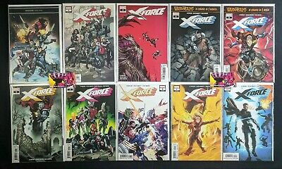 X-Force (2018 5th Series) #1-10 Complete Run Marvel Comics Ed Brisson