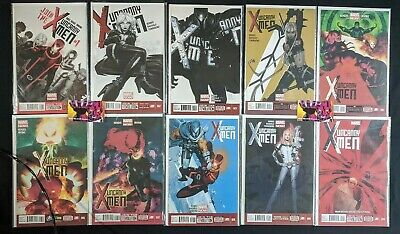Uncanny X-Men (2013 3rd Series) #1-35, 600 & Annual Complete Run Marvel Comics