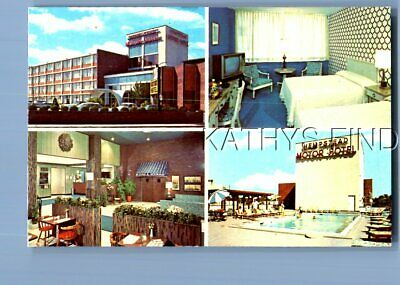 New York Postcard M+9100 The Hempstead Motor Hotel