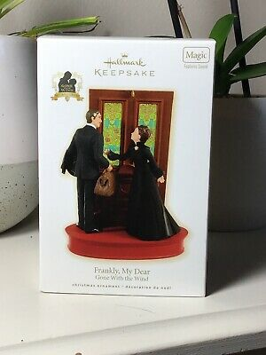 Hallmark Keepsake Ornament 2009 Frankly, My Dear Gone With the Wind Magic Sound