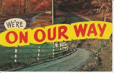 Multiview Three Roads Mohawk Trail Massachusetts MA 1967 Postcard Chrome