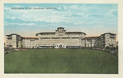 Huntington Hotel Pasadena California CA Postcard S H Kress & Co