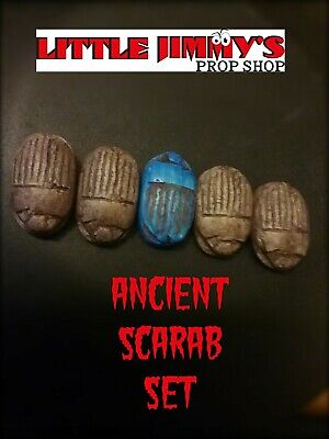Ancient Mystical PK Scarab Set. Mentalism Telekinesis Magic Trick Prop