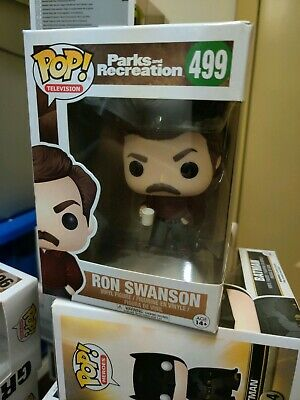 Funko Pop Parks And Rec Series Ron Swanson #499