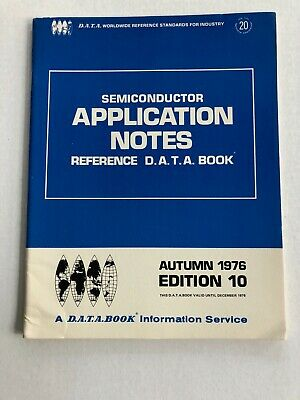 Vtg Electronics Magazine D.a.t.a. Book Application Notes Dec 1976 Edition 10