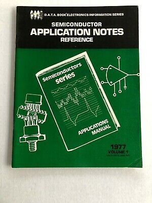 Vtg Electronics Magazine D.a.t.a. Book Application Notes June 1977 Vol 1