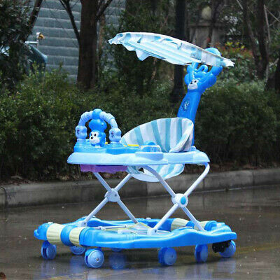 Baby Walker First Step Push Along Bouncer Activity Rocking Horse Toy Ride On Car
