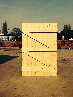 Pressure Treated Made To Measure Garden Gate  2000Mm  High Straight Top