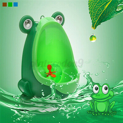 Frog Children Cute Shaped Potty Toilet Training Urinal Boys Pee Trainer