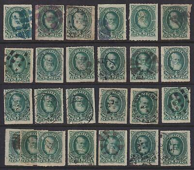 Brazil 72  Intersting Cancellation Collection - No Faults Extra Fine! - W855