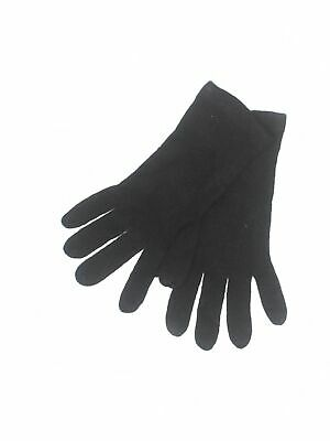 New York & Company Women Black Gloves One Size