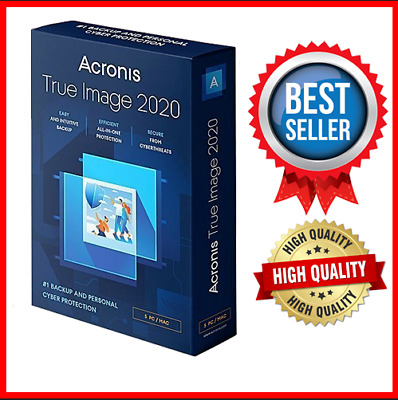 Acronis True Image Backup 2020 Activated Lifetime Licence Bootable ISO Image