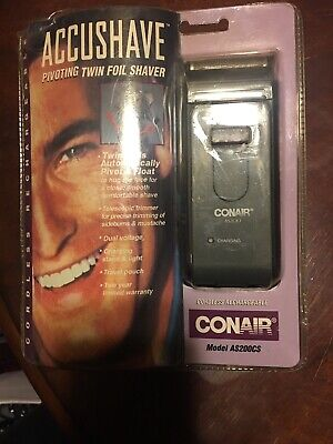 Conair as200 shaver accushave