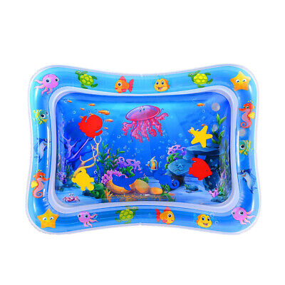 Kids Inflatable Patted Playmat Crawling Water Cushion Baby Summer Games Pad TN2F