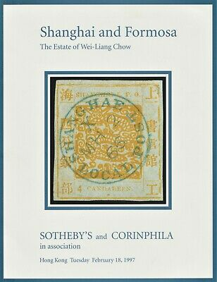 SHANGHAI & FORMOSA, Wei-Liang Chow collection, 1997 auction catalogue
