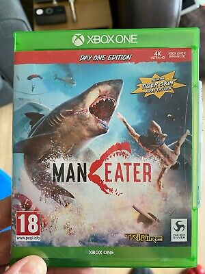 Maneater Xbox One game Day 1 edition