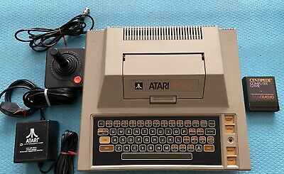 Vintage Tested Working Atari 400 Home Computer System with Centipede Game
