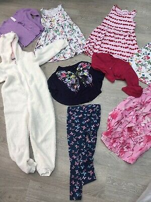 Bundle Of Girls Summer Clothes Aged 6-7 Years inc H&M, NEXT, Blue Zoo :)