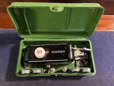 Vintage/Antique Singer Sewing Machine Accessories with Box