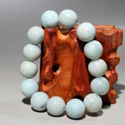 Collectable China Old Jade Hand-Carve Beautiful Unique Noble Auspicious Bracelet