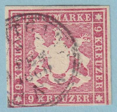 German States - Wurttemberg 17  Used - No Faults  Extra Fine!