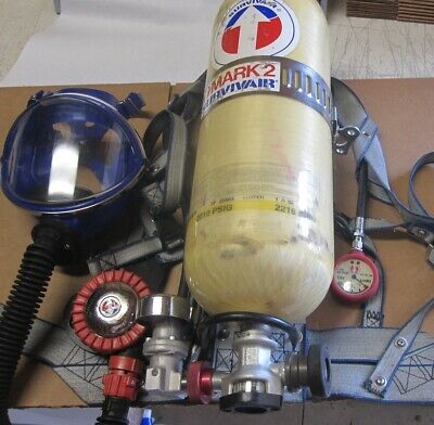 Survivair SCBA Mark 2 Barely Used Training Unit w/Luxfer Carbon Tank