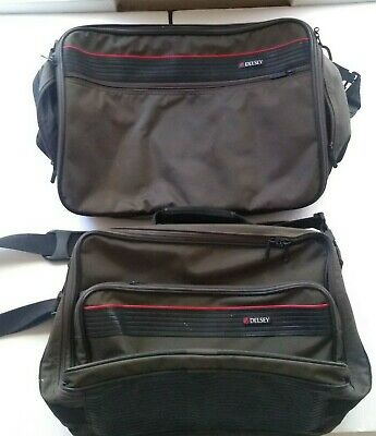 Vintage DELSEY Laptop and Travel Bags