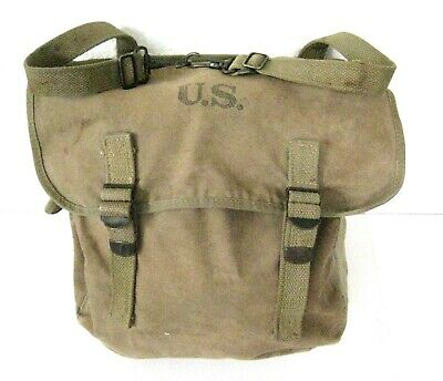 WWII US Army Musette / Bag by Atlantic Products Corp 1942