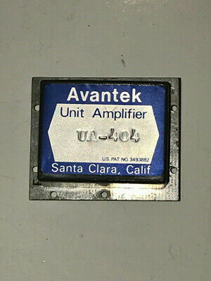 Avantek Unit Amplifier Model Ua-404