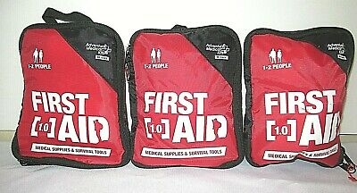 3PK Adventure Medical Kits First Aid Medical Kit 1.0 For 1-2 People