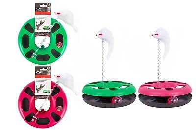 Jingle Ball Chase Ring with Mouse Cat Toy