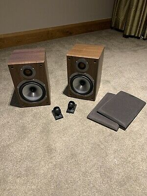 Pair Of MONITOR AUDIO BRONZE BR1 SPEAKERS, Bookshelf Or Wall Mounted