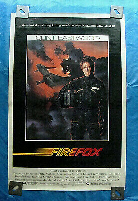 FIREFOX POSTER Original (1982) Clint Eastwood Action Classic!