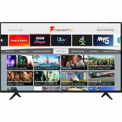 Hisense 58A7100FTUK 58 Inch TV Smart 4K Ultra HD LED Freeview HD 3 HDMI