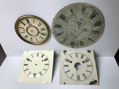 Antique Clock Dials for restoration.
