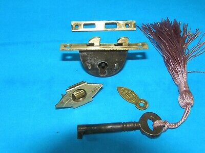 Antique Writing Slope Working Lock And Key Victorian c1870. Speedy Delivery!!