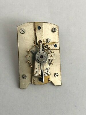 Platform escapement for clock or carriage clock working order