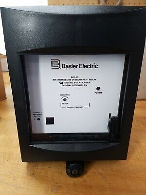New in Box BASLER BE1-50 OverCurrent Relay INSTANTANEOUS OVERCURRENT RELAY