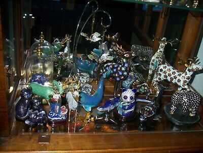 22 Pieces Cloisonne Animal Collection