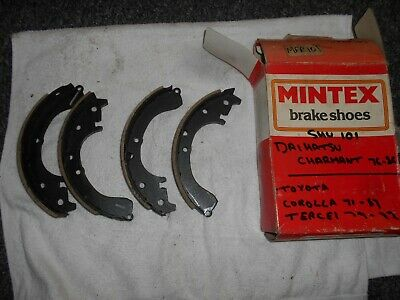 Toyota Corolla KE 20 25 27 30 35 37 50 70 TE 71 72 NOS Mintex Rear Brake Shoes