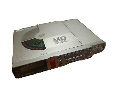 Sony Mz-R37 Minidisc Recorder And Player