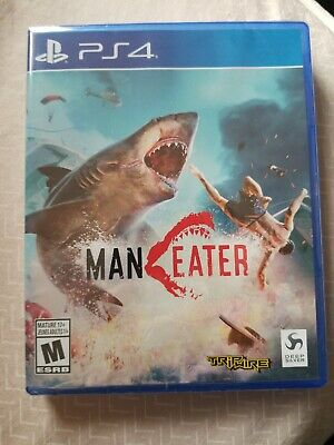 ManEater (PS4 / PlayStation 4) BRAND NEW and sealed