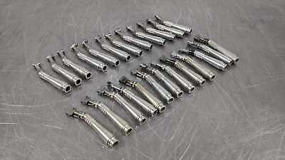 Lot of 25 Midwest Contra Angle Sheath Shorty Dental Angled Handpiece Rhino