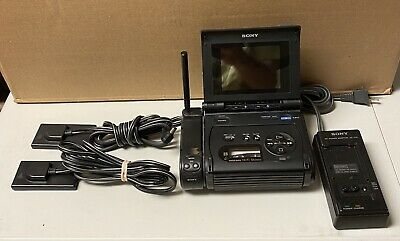 Sony video 8 walkman GV-S50 NTSC Used Works Great. Comes With Everything Shown.