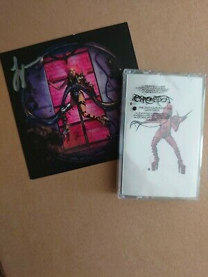 Lady Gaga Chromatica Cassette Tape UK EXCLUSIVE & Hand Signed Art Card.
