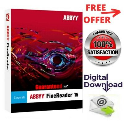 ABBYY FineReader Corporate 15 ✔️Full Version✔️Lifetime Licence key ✔️Windows✔️