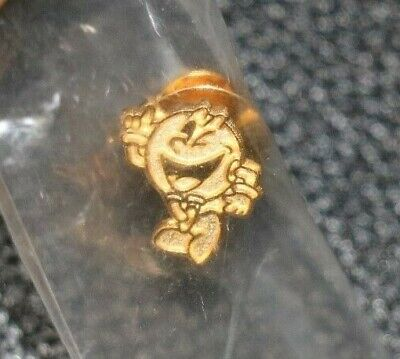 Pac-Man Videogame Gold Promo Pin E3 CES New In Bag