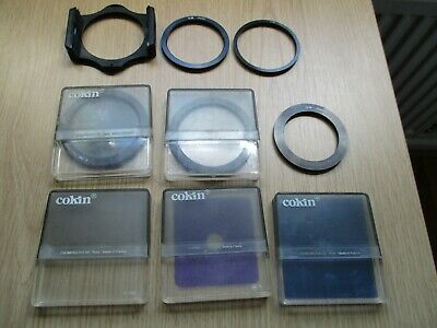 COKIN Filter System, adapter rings and Holders