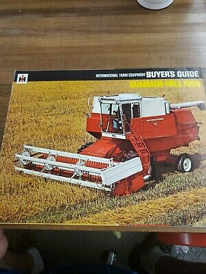 IH summer and fall  1967 buyers guide  brochure Farmall International