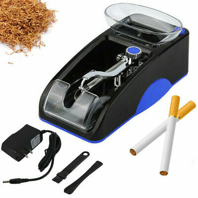 Electric Automatic Cigarette Rolling Machine Tobacco Injector Roller Maker Blue